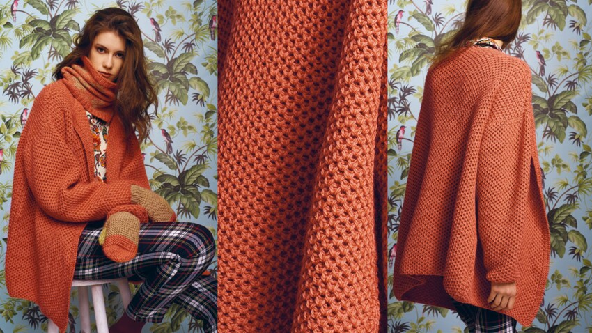 Ma veste en laine écologique