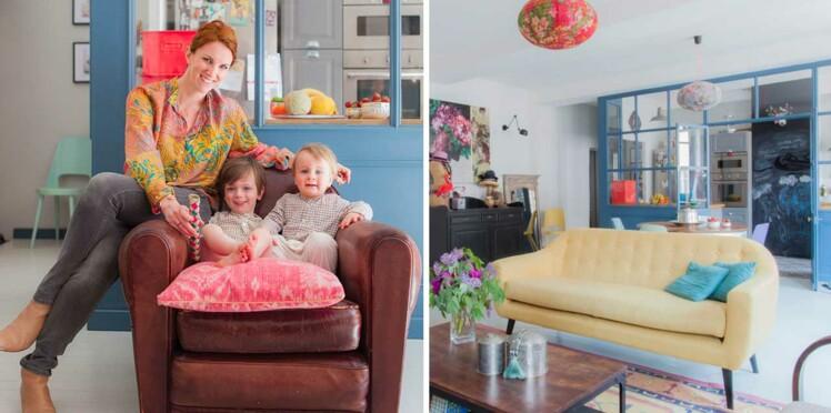 Inspiration déco : un appartement haut en couleur à Lyon
