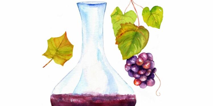 Notre astuce pour nettoyer une carafe à vin