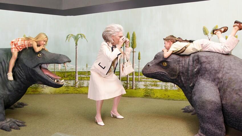 Pour ou contre traîner ses petits-enfants au musée ?
