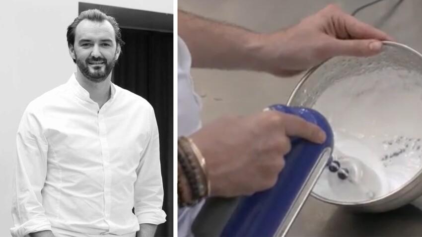 Réussir la meringue suisse avec Cyril Lignac
