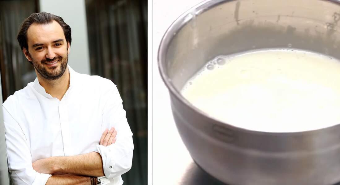 VIDEO : Le coeur coulant chocolat blanc - fève Tonka de Cyril Lignac