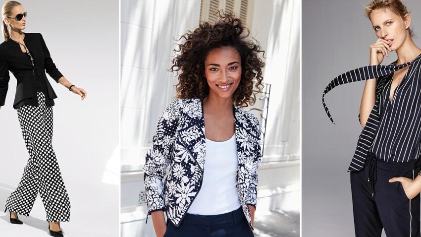 Mode + 50 ans : comment porter le noir et blanc ?