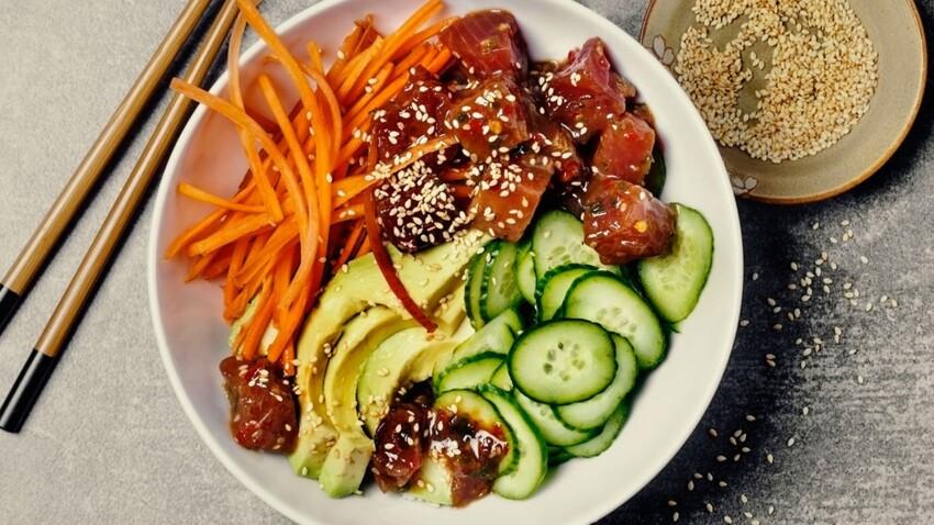 Poke bowl, la nouvelle tendance culinaire qui nous fait saliver !