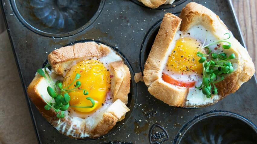 Toasts aux œufs