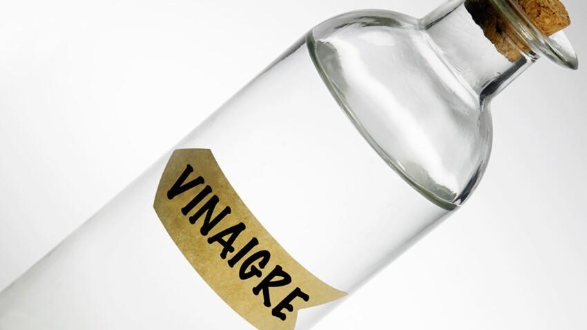 Le vinaigre blanc, il est pratique dans la maison !