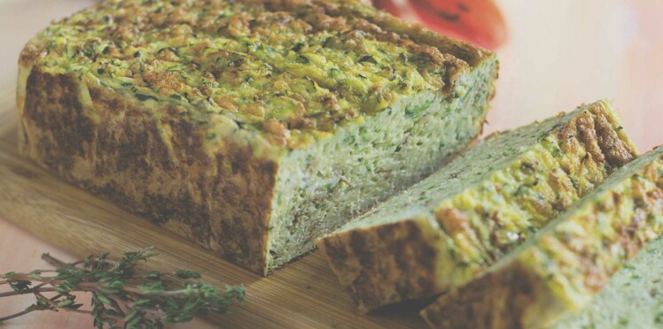 Cake aux courgettes