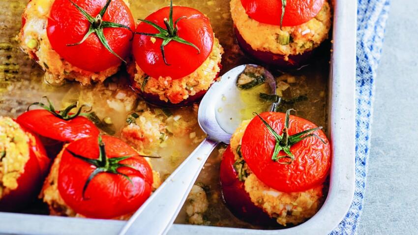 Tomates farciesau boulgour