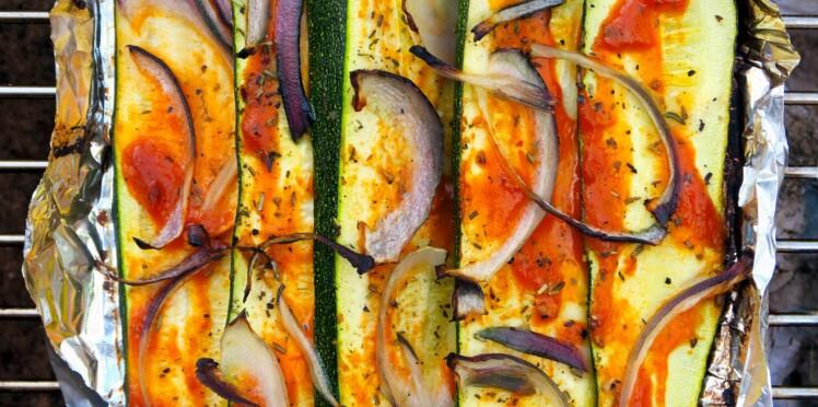 Courgettes grillées à la Provençale