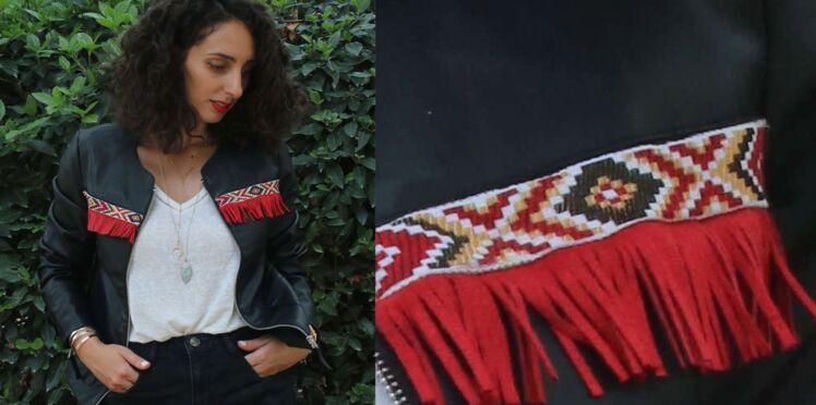La veste custom à franges