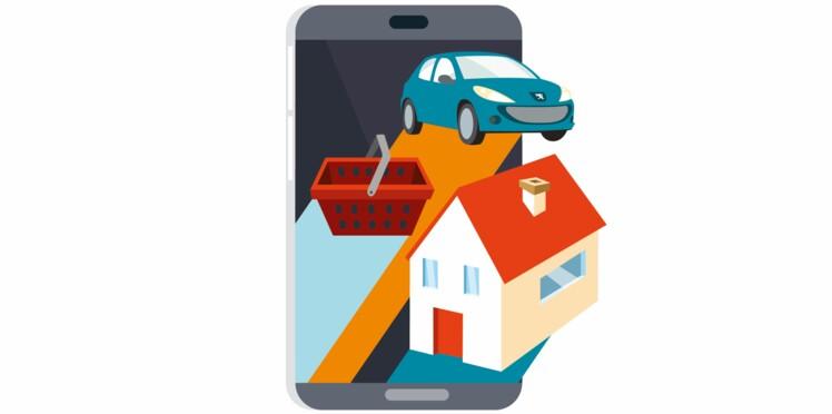 Comment gérer ses comptes via une appli ?