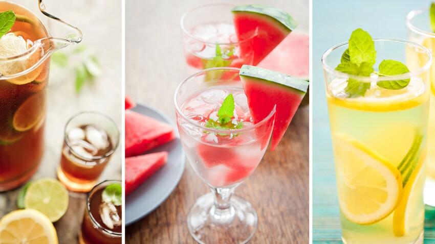Fortes chaleurs : 5 boissons rafraîchissantes à siroter toute la journée