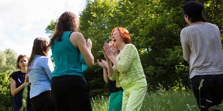 Le yoga du rire : 1, 2, 3, gloussez !