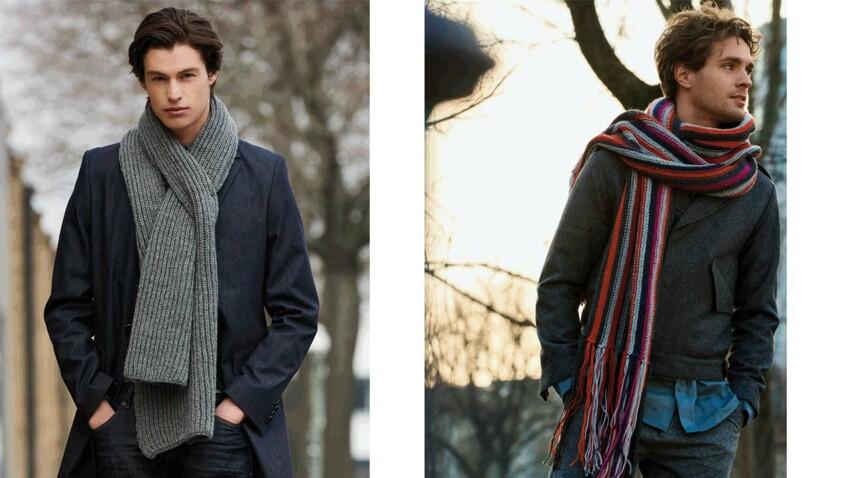 Les écharpes pour homme