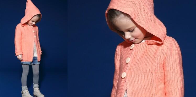 La veste a capuche pour enfant