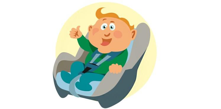 Siège auto : transportez vos petits-enfants en sécurité