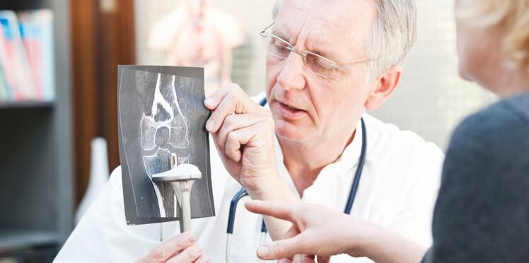 Arthrose : bientôt une prothèse de genou connectée ?