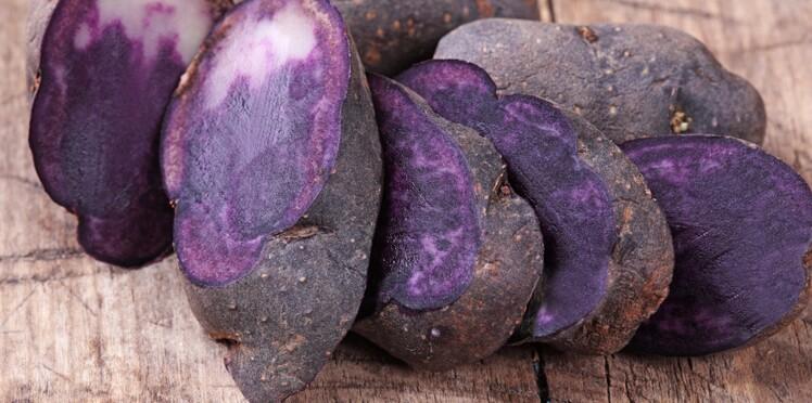 Des pommes de terre vitelotte contre le cancer du côlon ?