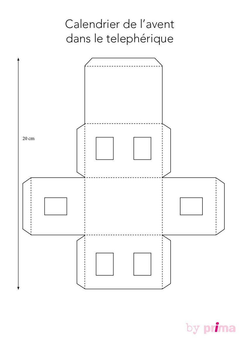 Comment Faire Un Calendrier Fait Maison calendrier de l'avent : un téléphérique à faire soi-même