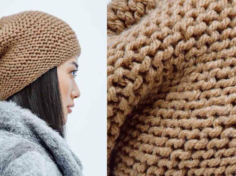 1f7abd950413 Le bonnet facile a tricoter   Femme Actuelle Le MAG