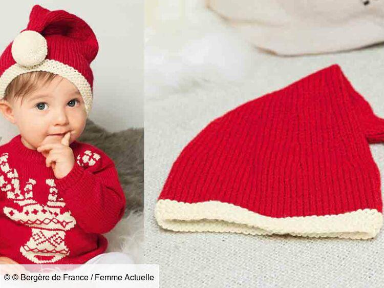 Le Bonnet De Noël Layette Femme Actuelle Le Mag