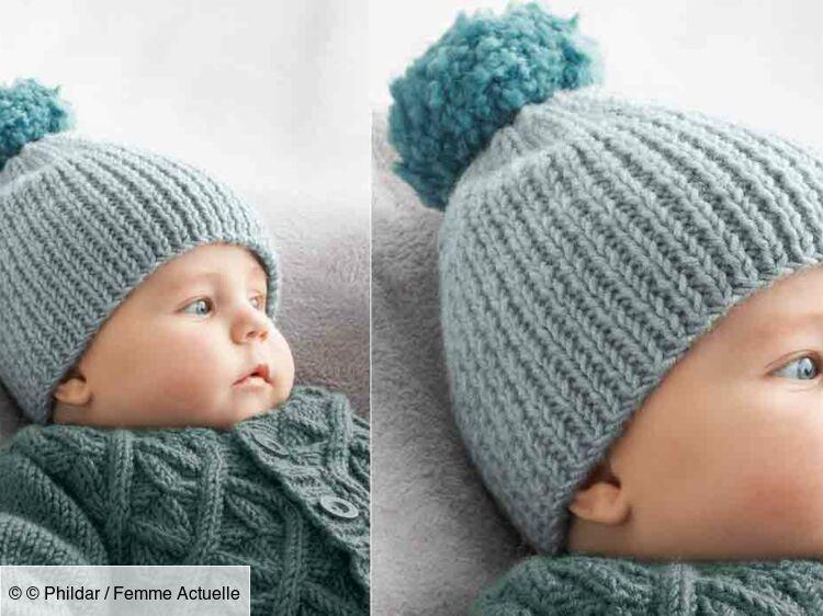 Le Bonnet En Côtes Pour Bébé Femme Actuelle Le Mag
