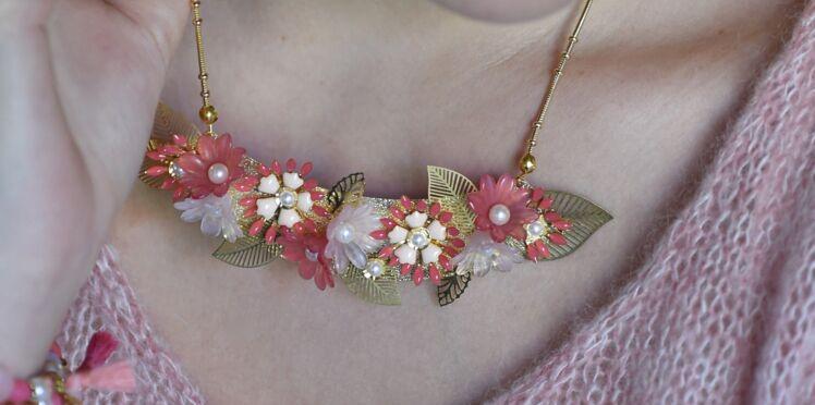 DIY : un collier fleurs de corail