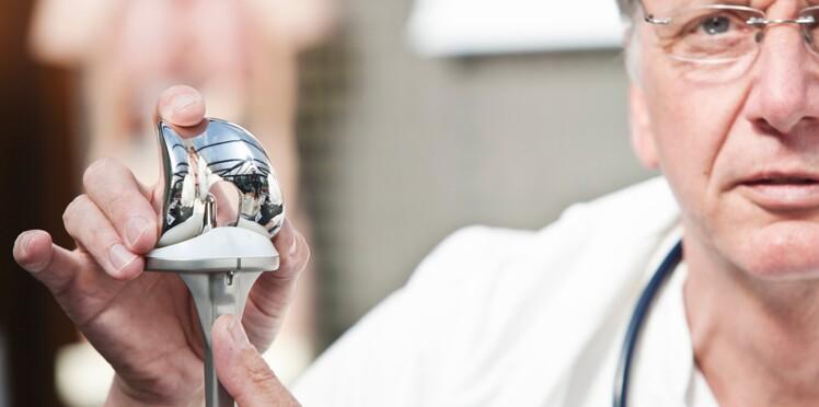 Arthrose : bientôt des prothèses de genou intelligentes