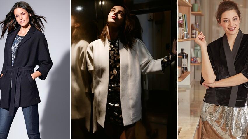 Comment porter la veste kimono après 50 ans ?