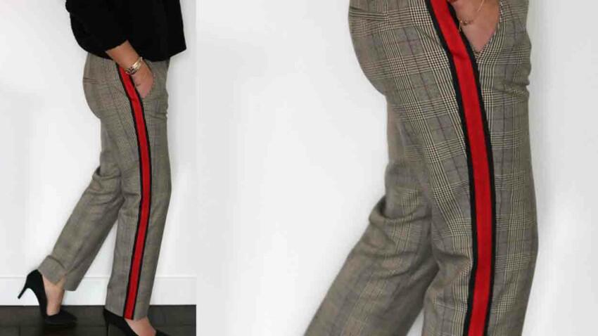 Le pantalon gansé