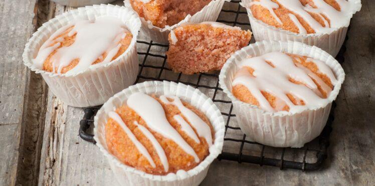 Cupcakes de haricots blancs à la confiture