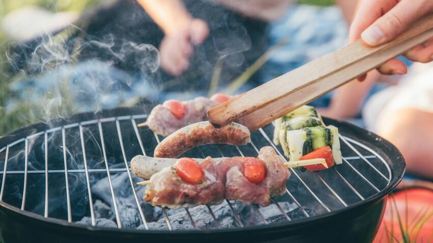 Le barbecue, toxique aussi pour notre peau