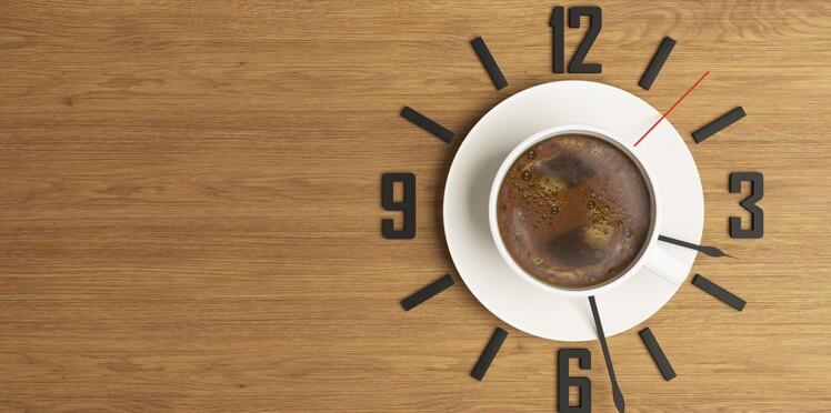 Tonus : boire son café… à la bonne heure !