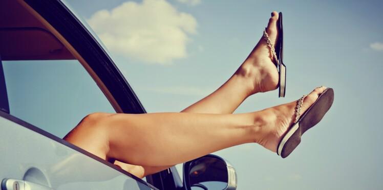 Voyage: gardez les jambes légères!