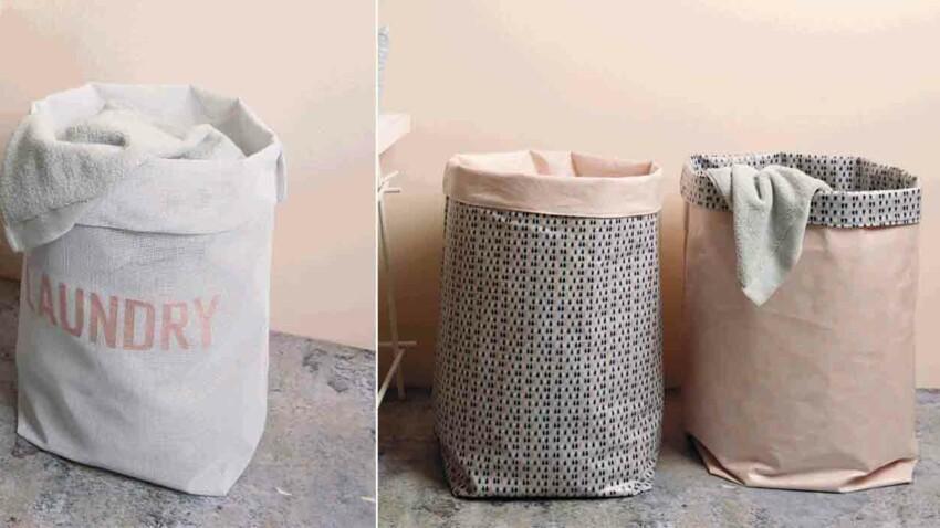 Les sacs à linge