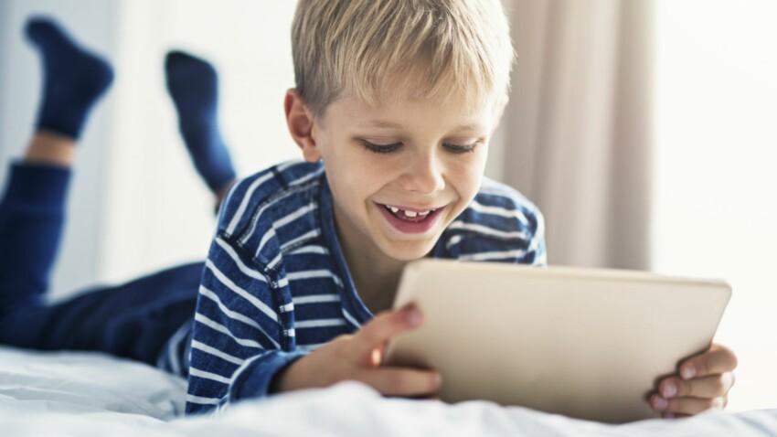 Comment limiter l'utilisation de ma tablette quand je la prête à mes petits-enfants ?