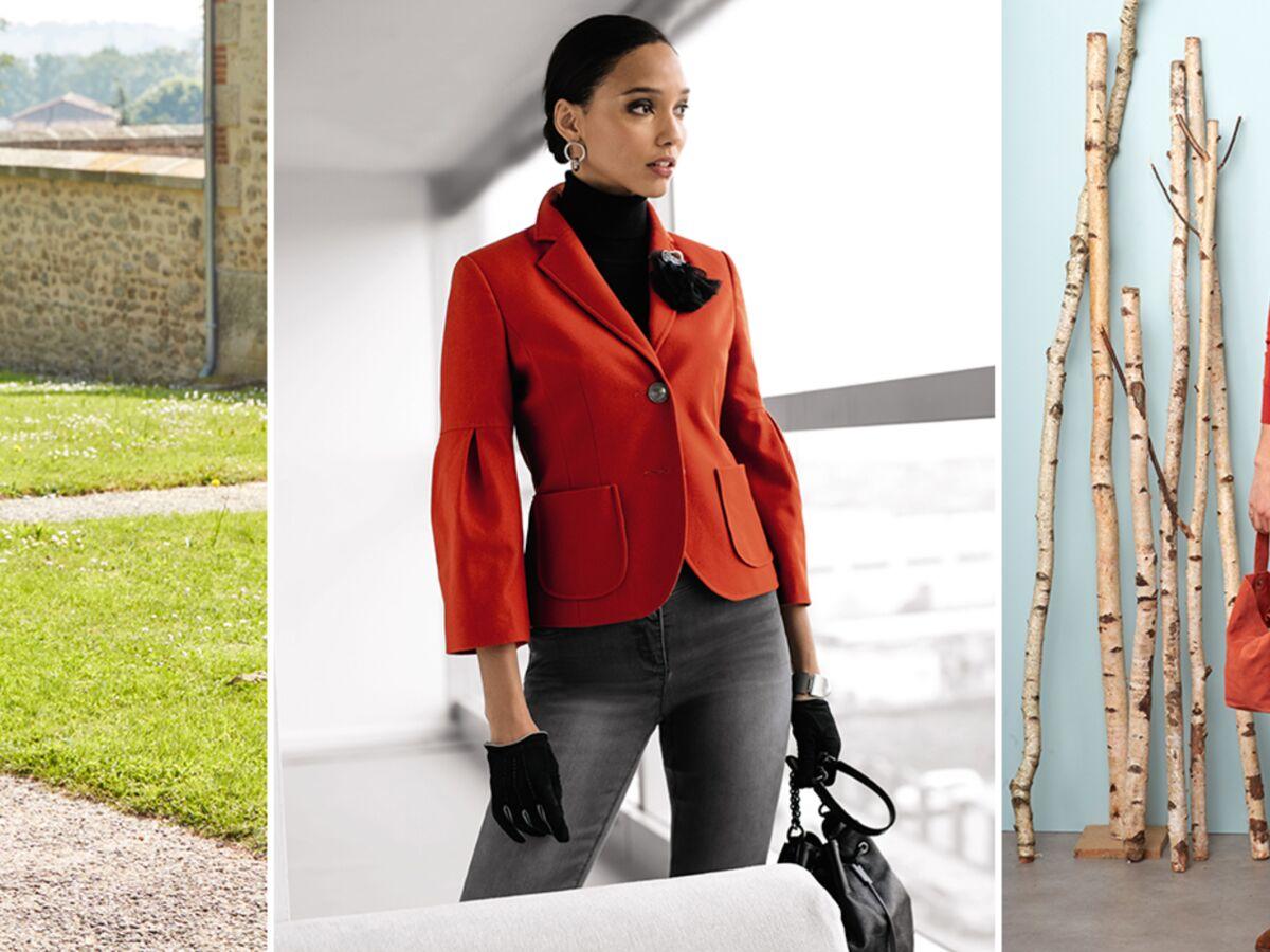 5 façons de porter la couleur rouille(4) | Couleur rouille