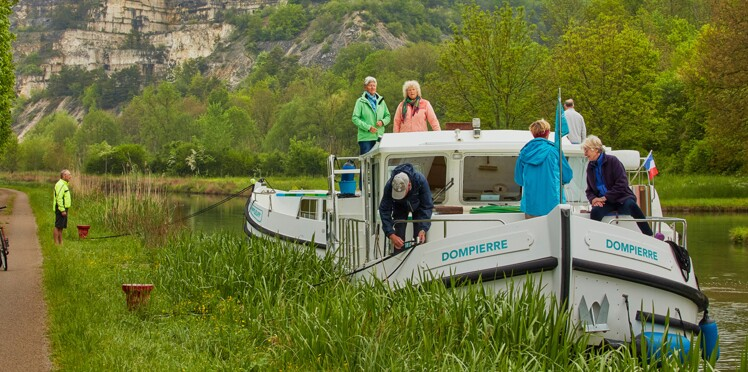 Croisière : en pénichette sur le canal de Bourgogne