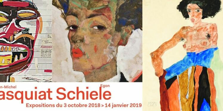 Expo : Basquiat-Schiele, génies parallèles