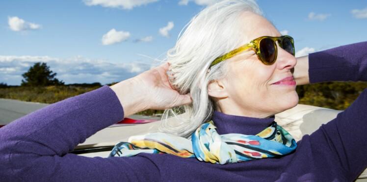 Mode : quelles couleurs porter quand on a les cheveux blancs ?