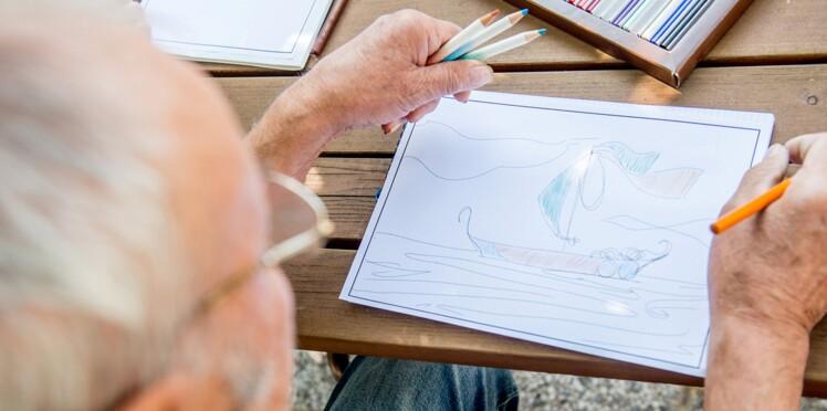 Alzheimer : le dessin pour se souvenir