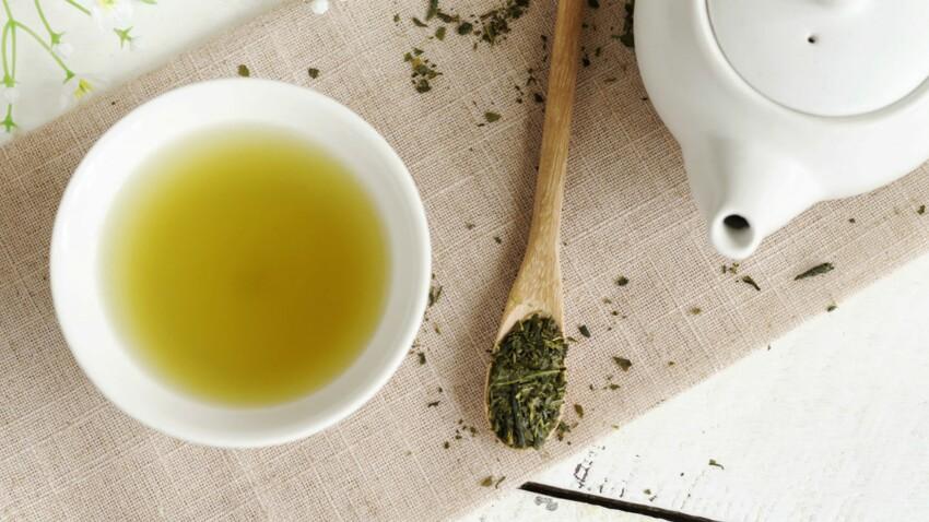 Du thé vert contre le surpoids
