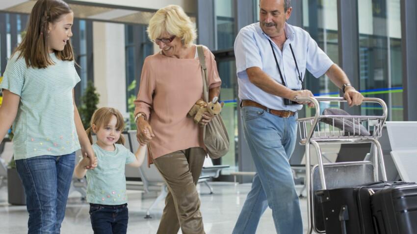 Quels papiers pour voyager avec vos petits-enfants ?