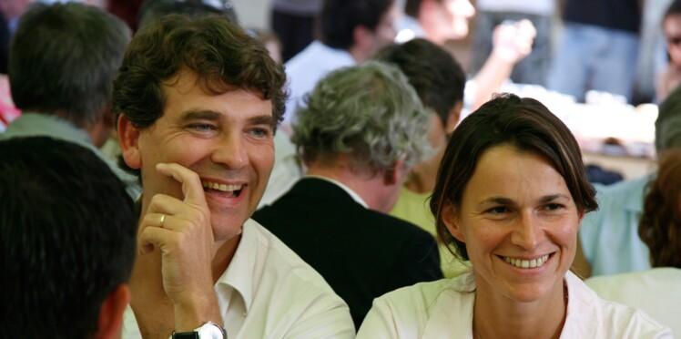 Jeanne, la fille d'Aurélie Filippetti et Arnaud Montebourg, baptisée