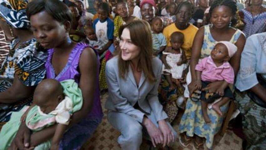 Carla Bruni-Sarkozy : son combat contre le SIDA
