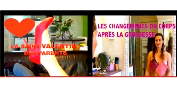 Elle raconte sa vie de maman sur Youtube