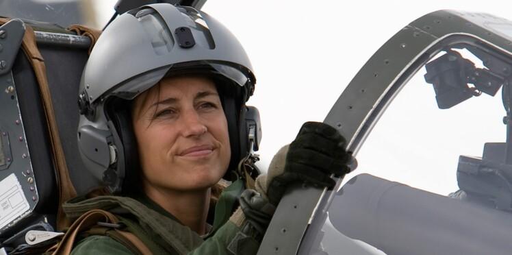 Anne-Laure Michel, l'une des rares femmes pilote de chasse