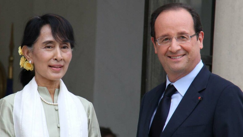 Aung San Suu Kyi en visite en France pour trois jours