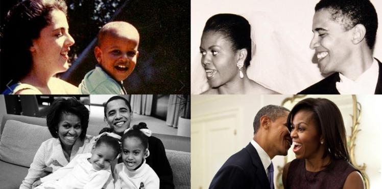 Barack et Michelle Obama : l'album photos de la famille présidentielle