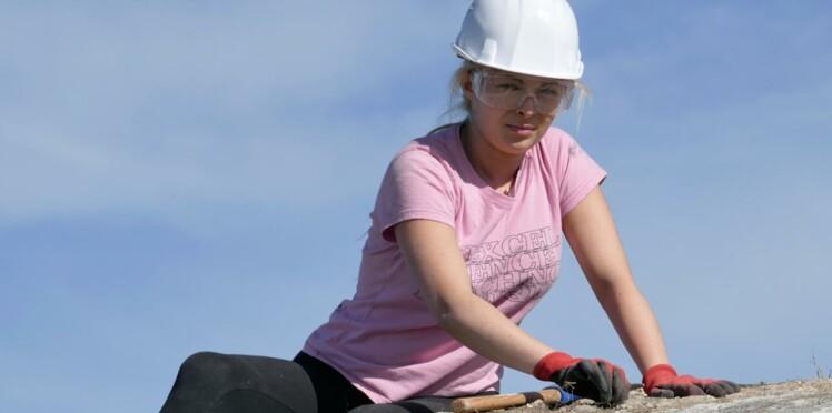 Bénévole sur un chantier, elle restaure notre patrimoine